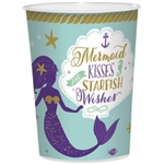 Mermaid Wishes Favor Cup
