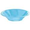 CARRIBEAN BLUE 12OZ PLASTIC BOWLS