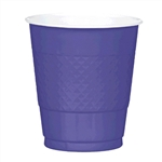 NEW PURPLE 12OZ PLASTIC CUPS