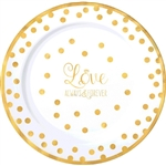 Love Always and Forever Premium 10.25 Inch Plates