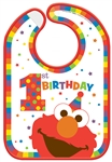 Elmo Turns One Baby Bib
