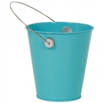 CARIBBEAN BLUE METAL BUCKET