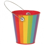 RAINBOW METAL BUCKET