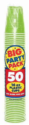 KIWI 16OZ CUP PARTY PACK - 50CT