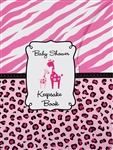 Pink Baby Shower Keepsake Book