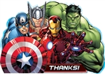 The Avengers Thank You Cards