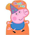 "Peppa Pigâ""¢ Postcard Thank You Cards"
