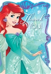Disney Ariel Dream Big Thank You Postcards