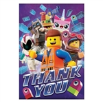 Lego Movie 2 Thank You Cards