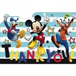 MICKEY ON THE GO THANK YOU NOTES