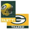 Green Bay Packer Invitation and Thank You Cards