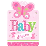 Welcome Little One Girl Invitations