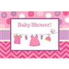 Shower with Love Girl Invitations