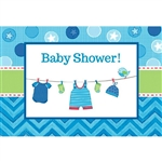 Shower with Love Boy Invitations