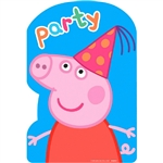 "Peppa Pigâ""¢ Postcard Invitations"