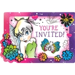 Tinkerbell Keep Flying Party Invitations
