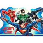 Justice League Invitations