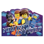Lego Movie 2 Invitations