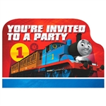 THOMAS ALL ABOARD INVITES