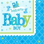 Welcome Little One Boy Beverage