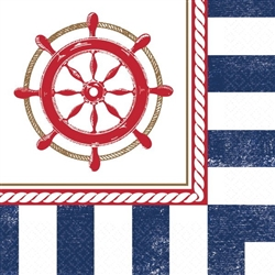 Anchors Aweigh Beverage Napkins