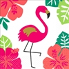 Aloha Flamingo Beverage Napkins