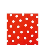 American Summer Red Dots Beverage Napkins