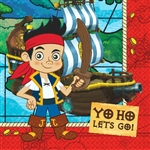 Jake and the Never Land Pirates Luncheon Napkins