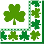 Lucky Shamrocks Luncheon Napkins
