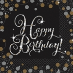 SPARKLING CELEBRATION LUNCHEON BIRTHDAY NAPKINS
