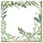 Love and Leaves Luncheon Napkins