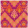 Orange Ikat Luncheon Napkins