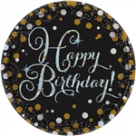 SPARKLING CELEBRATION BIRTHDAY 7 INCH PLATE
