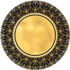 Glitz And Glam Art Deco Metallic 7 Inch Plates