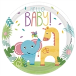 "Fisher Priceâ""¢ Hello Baby Round Plates, 7"""