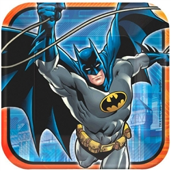 Batman 9 inch Square Dinner Plate