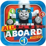 "Thomas All Aboard 9"" plates"