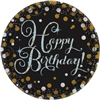 SPARKLING CELEBRATION BIRTHDAY 9 INCH PLATE