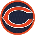Chicago Bears 9 inch Dinner Plates