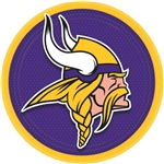 Minnesota Vikings 9 inch Dinner Plates