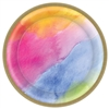 Rainbow Dream Round Plates, 8 1/2""