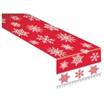 Snowflake Fabric Table Runner