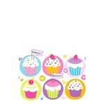 Cupcake Party Table Cover