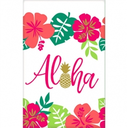 ALOHA PAPER TABLECOVER