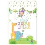 "Fisher Priceâ""¢ Hello Baby Plastic Tablecover"