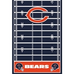 Chicago Bears Plastic Table Cover
