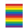 Rainbow Stripes Table Cover