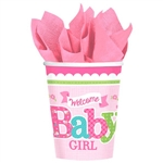 Welcome Little One Girl 9oz Cup