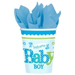 Welcome Little One Boy 9oz Cup