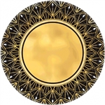 GLITZ AND GLAM 10 INCH METAlLIC PLATES